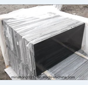 Natural Stone/Polished Stone/Mongolian Black Basalt/Polished/Honed/Flamed/Black/White/Green/Yellow/Red/Brown/Grey Granite for Tiles/Slab/Countertop pictures & photos