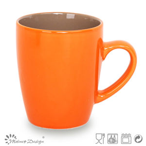 Bicolor Ceramic Stoneware Coffee Mug pictures & photos