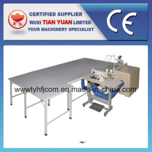 Comforter Edge Cutting Packing Machine pictures & photos