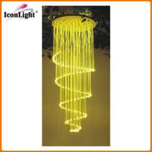 Christmas Decorative Fiber Optic Chandelier (ICON-FC-01) pictures & photos