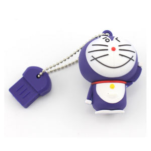 Cat Shaped Wrist-Band Silicone USB Flash Disk (TF-0921) pictures & photos