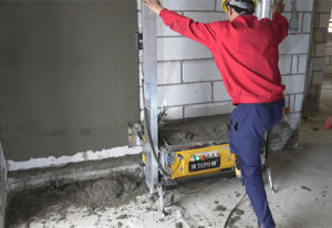 Construction Cement Plastering Machine for Building pictures & photos