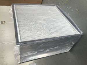 Aluminum Frame Pleat HEPA Filter/Panel Filter pictures & photos