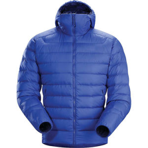 Men Fully Front Zipper Lightweight Quilted Down Jacket pictures & photos