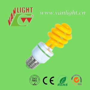 T3 Color Lamp Series Yellow Energy Saving Lamps (VLC-CLR-15W-Series-Y) pictures & photos