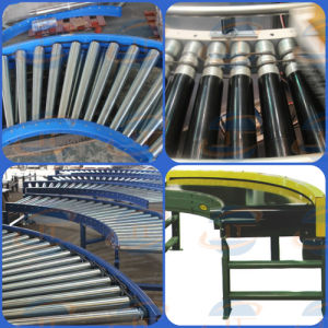 Curved O-Belt Drive Roller Conveyor pictures & photos