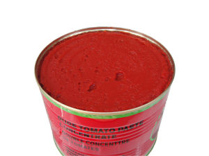 Halal Tomato Paste 70g 210g 400g 800g 850g 1kg 2.2kg 3kg 4.5kg pictures & photos