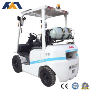 Promotional Price 3ton Nissan LPG Forklift, Mini Tractor for Sale pictures & photos