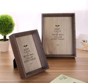 Plain Home Decoration Wood Photo Frames pictures & photos