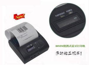 Portable POS8003 Mini Portable Mobile Bluetooth Printer with Sdk for Android, Ios Phone Development