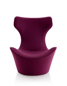 High Back Cashmere Fabric Fiberglass Leisure Chair Set (FC-019) pictures & photos