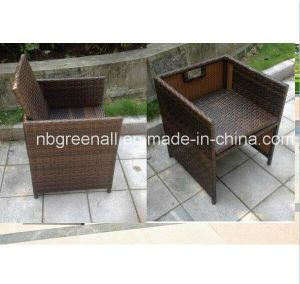 Rattan/Wicker Outdoor Chair for Cube Table pictures & photos
