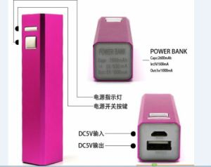 Cheap Christmas Promotion Gift 2600mAh Metal Case Power Bank (PB-YD19) pictures & photos