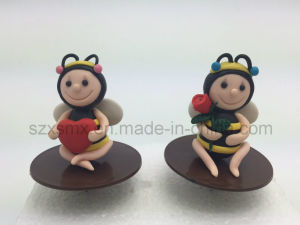 Polymer Clay Animal Birthday Cake Topper Cake Decorations for Childrent