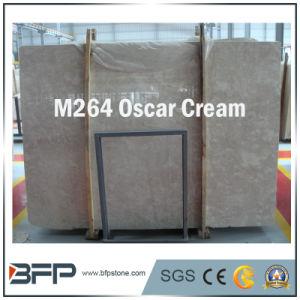 Oscar Cream Marble Slabs/ Tiles for High Level Interior Design pictures & photos