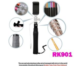 Upgraded Rk90e Wired Selfie Stick with Camera Shutter Function (OM-RK90E) pictures & photos