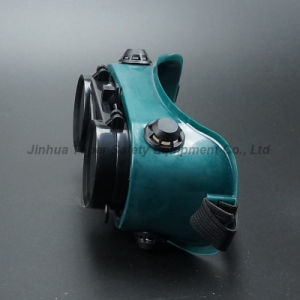 50mm Round Lens Flip-up Front Type Welding Goggle (WG113) pictures & photos