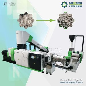 Austria Technology Plastic PP Woven Bag Recycling Granulating Machine pictures & photos