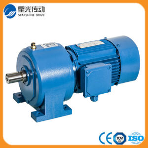 China Helical Geared Motor Reduction pictures & photos