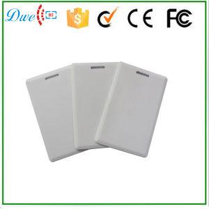 Em4200 Chip 125kHz Thick Passive Card Plastic PVC Smart RFID Chip ID Card pictures & photos
