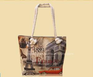 Wholesale Custom Digital Printing Canvas Beach Bags pictures & photos