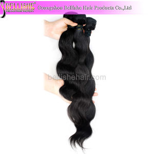 Wholesale No Tangle No Shedding Body Wave 6A Virgin Brazilian Remy Human Hair Extensions