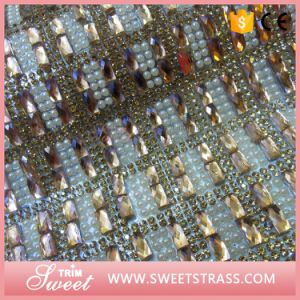 24X40cm Crystal Pearl Shoe Sticker pictures & photos