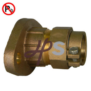 Lead Free Brass or Bronze Forging Meter Flange with Gasket pictures & photos
