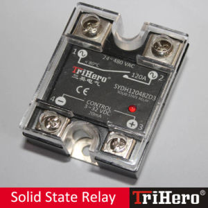 120A DC/AC 1 Phase Solid State Relay SSR pictures & photos