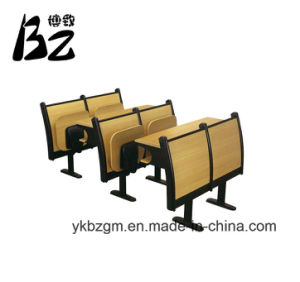 Double Library Furniture Student Desk (BZ-0090) pictures & photos