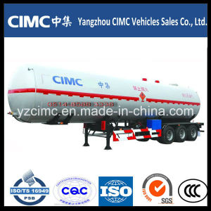Cimc 3 Axle LPG Tanker Semi Trailer pictures & photos