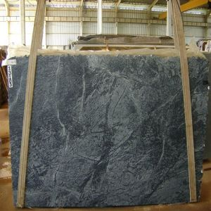 Polished/Natural/Grey/Black Marble Slab Soap Stone for Wall Tiles/Floors/Counter Tops/Bathroom Tiles pictures & photos