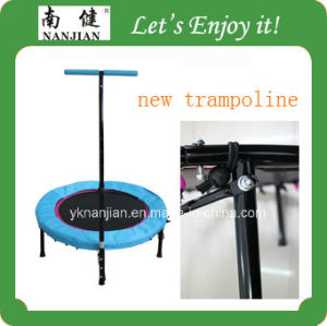 Cheap Indoor with Handle Bar Trampoline pictures & photos