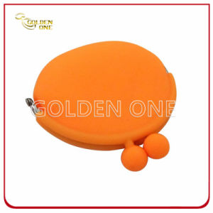High Quality Plastic Promotional Gift Silicon Coin Purses pictures & photos