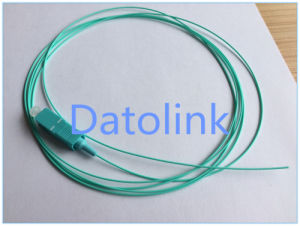 Pigtail SC/PC mm Loose Tube 50/125 Om3 2m LSZH Aqua Color pictures & photos