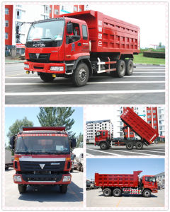 Foton 6X4 T-Type Middle Lift Dump Truck (CLW3906) pictures & photos
