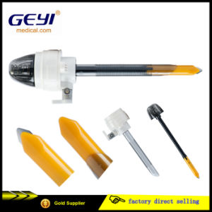 Geyi CE Certificate Disposable Surgical Medical Laparoscopic Trocar with Blade pictures & photos