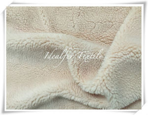 Faux Sherpa Fur for Garment pictures & photos