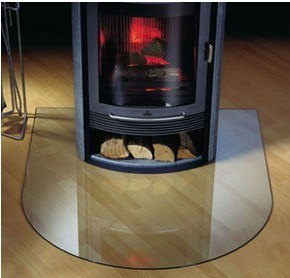 4mm, 5mm Microcrystalline Glass for Fireplace pictures & photos