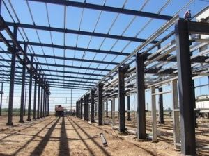 High Rise Column Steel Structure Warehouse (KXD-78) pictures & photos