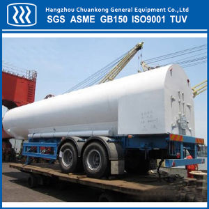 Cryogenic Oxygen Nitrogen Argon LNG Tanker Semi-Trailer pictures & photos