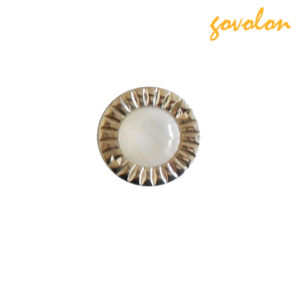 Fashion Round Acrylic Pearl Cup Button pictures & photos
