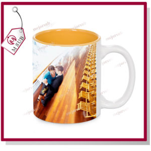 11oz Customized Ceramic Mug Sublimation with Inside Color pictures & photos