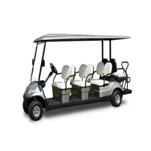 8 Seaters Electric Golf Cart with 48V Battery pictures & photos