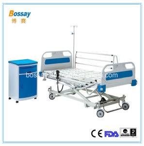 Hong Kong Standard Three Functions Electric Hospital Bed pictures & photos