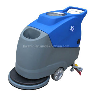 PVC Artificial Stone Floor Scrubber Machine pictures & photos