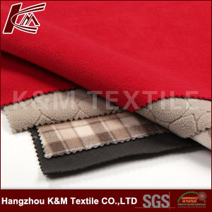High Elastic Fabric Bonded with TPU and Polar Fleece 3 Layer Fabric pictures & photos