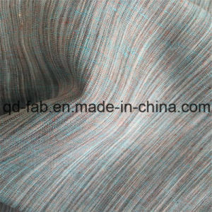 China Tie-Dyed 100% Linen Fabric (QF16-2476) pictures & photos