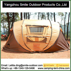 Trade Show 3 Person Family Folding Pop up Camping Tent pictures & photos