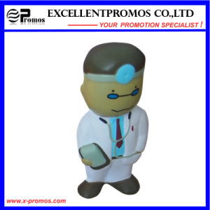 Customized Logo People Shape PU Stress Doctor Toy (EP-P58308) pictures & photos